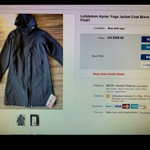 lululemon athletica Jackets & Coats - NEW Lululemon Apres Yoga jacket
